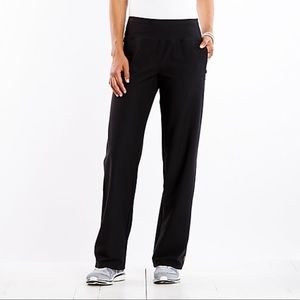 Lucy everyday pants in black
